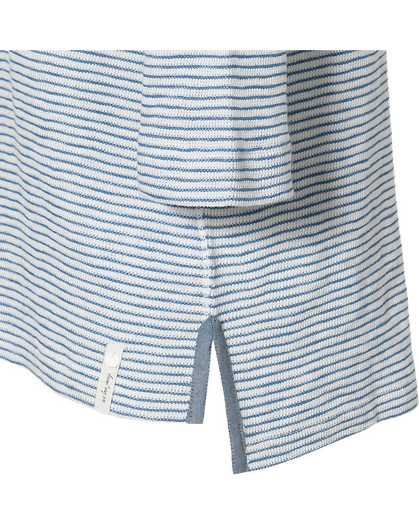 Marc O'Polo 3/4-Arm-Shirt blau/weiß