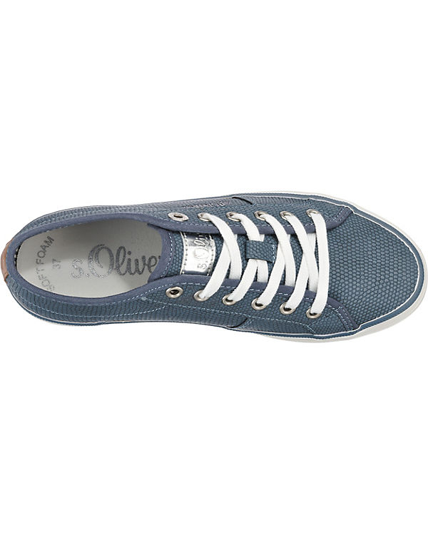 s.Oliver Sneakers dunkelblau