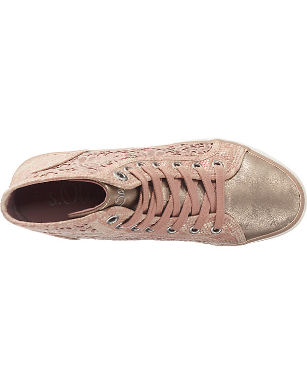 s.Oliver Sneakers rosa