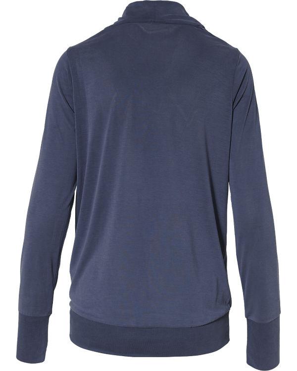 BENCH Langarmshirt blau