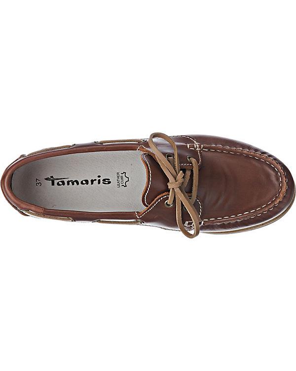 Tamaris Folk Slipper braun