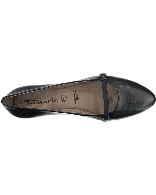 Tamaris Hemp Ballerinas schwarz