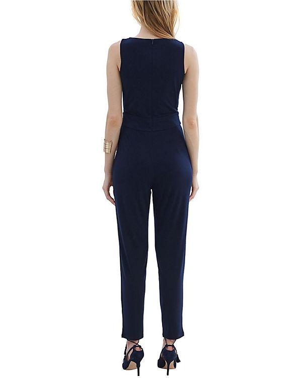 ESPRIT collection Jumpsuit dunkelblau