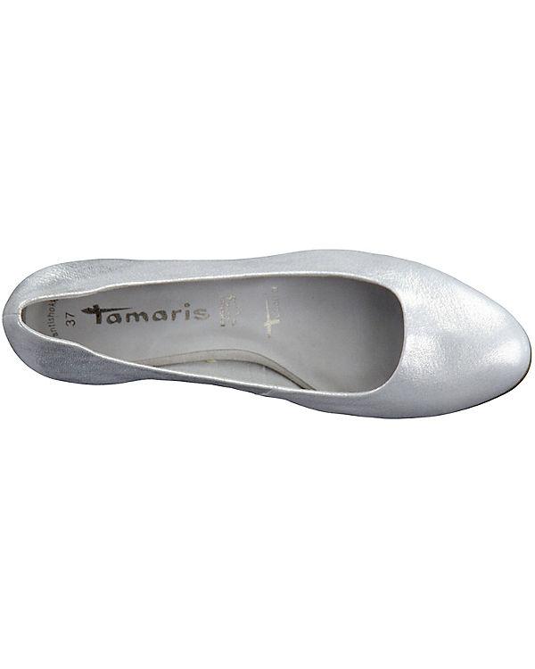 Tamaris Micro Pumps silber