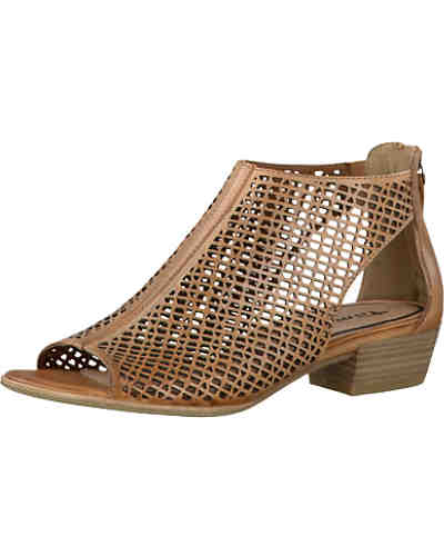 tamaris tamaris sandaletten braun ambellis. Black Bedroom Furniture Sets. Home Design Ideas