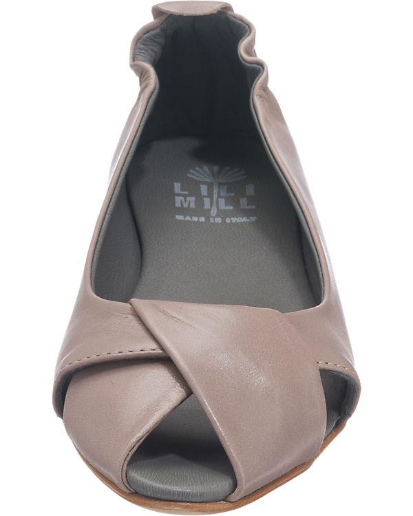 LILIMILL Ballerinas grau