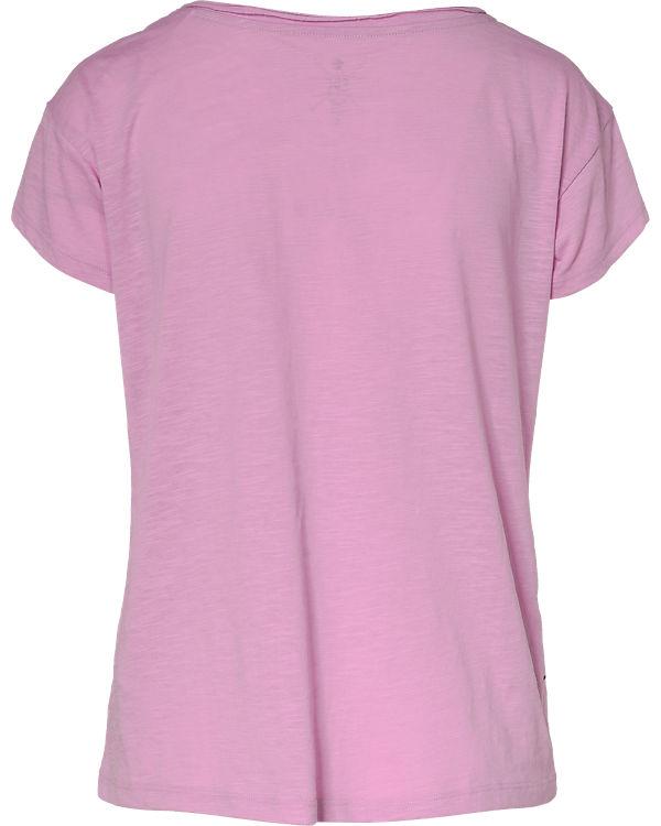 edc by ESPRIT T-Shirt lila