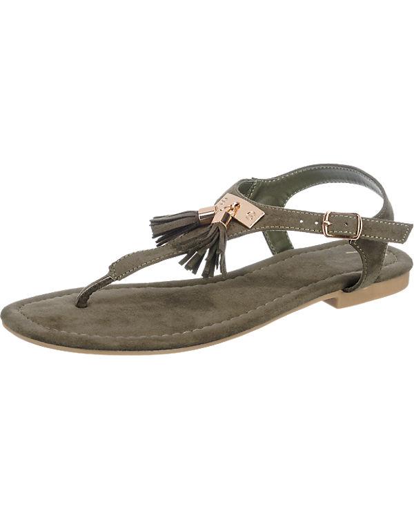 Anna Field Sandaletten dunkelgrün