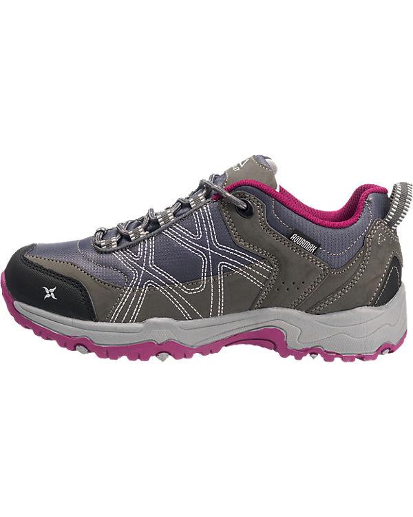 McKinley Kona II Aqx Outdoor Schuhe wasserdicht grau-kombi