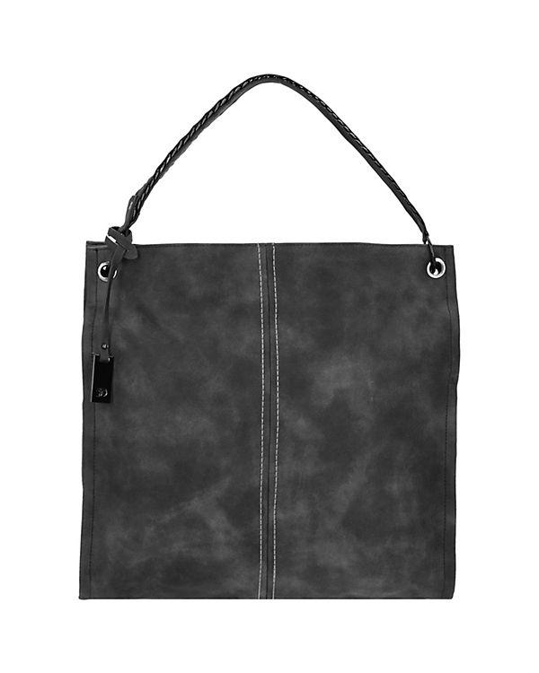 TOM TAILOR Denim Tom Tailor Denim Yara Shopper Tasche 39 cm schwarz
