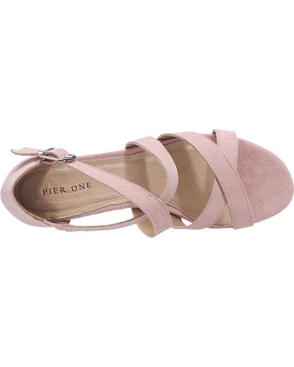 Pier One Sandaletten rosa