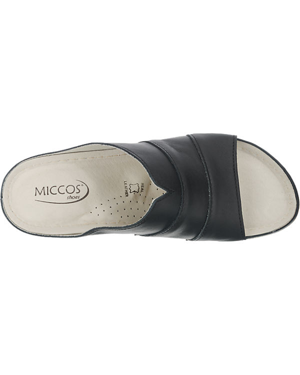 Miccos Pantoletten schwarz