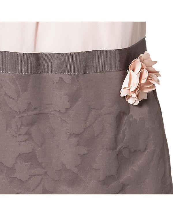 comma Kleid beige/braun