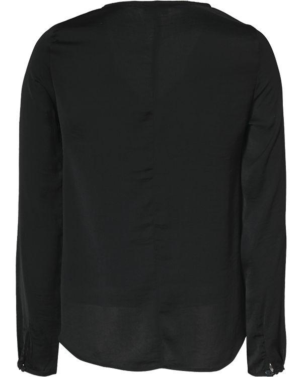 VILA Bluse schwarz