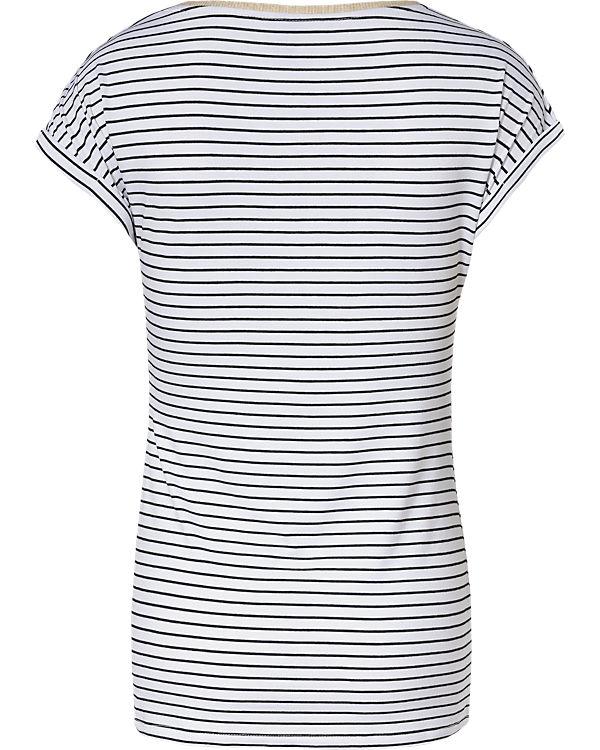 LOVE2WAIT Stillshirt Striped weiß