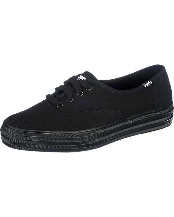 Keds Triple Season Canvas Sneakers schwarz
