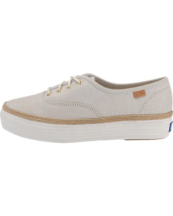Keds Triple Dalmata Dot Lea Sneakers beige