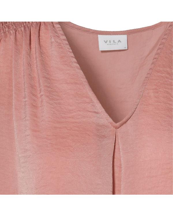 VILA Blusentop rosa