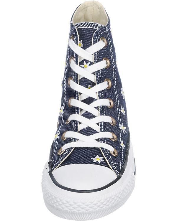 CONVERSE Chuck Taylor All Star Hi Sneakers blau-kombi