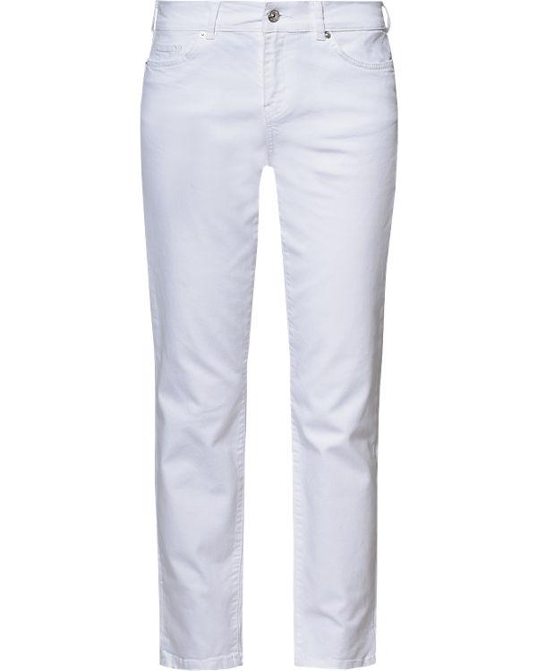 VERO MODA Jeans Straight weiß