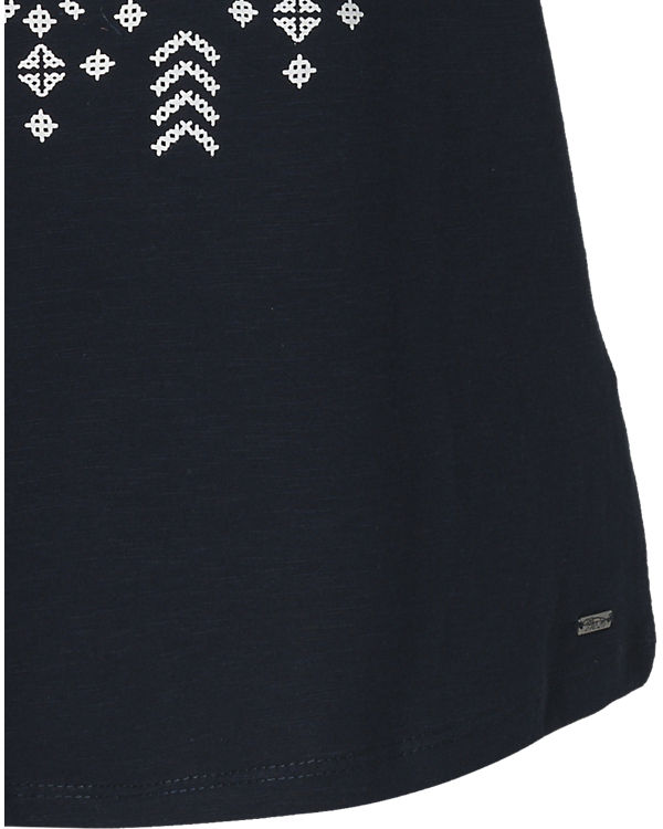 TOM TAILOR Denim T-Shirt dunkelblau