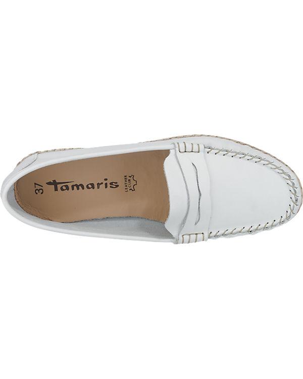Tamaris Nori Slipper weiß