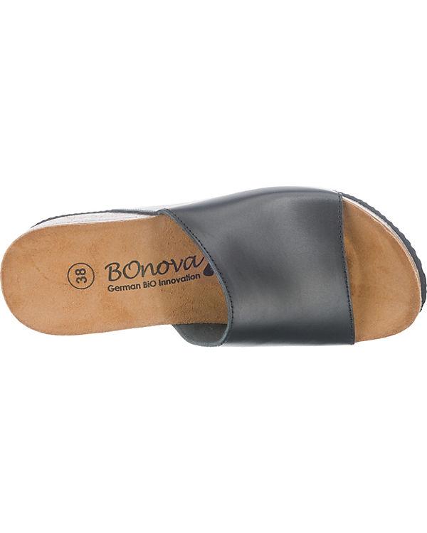 BOnova Engage Pantoletten schwarz