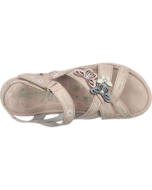 MUSTANG Sandaletten grau