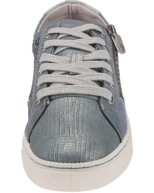 MUSTANG Sneakers blau