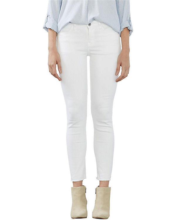 edc by ESPRIT Jeans Skinny Medium Rise offwhite