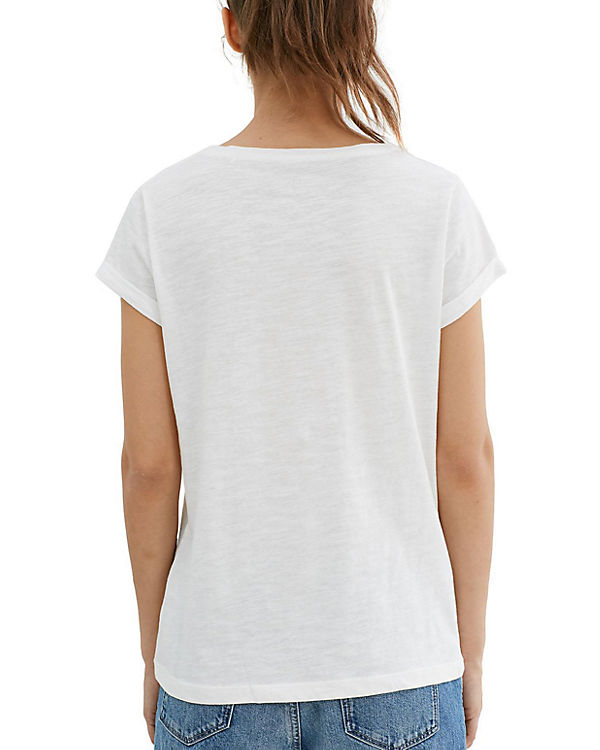edc by ESPRIT T-Shirt offwhite