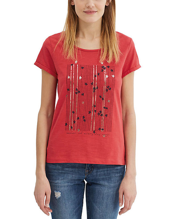 edc by ESPRIT T-Shirt rot