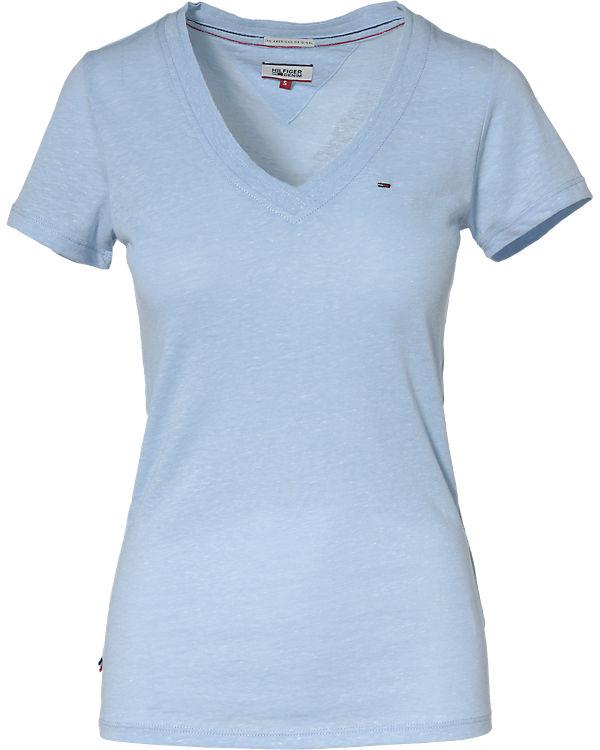 HILFIGER DENIM T-Shirt hellblau