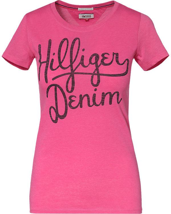 HILFIGER DENIM T-Shirt pink