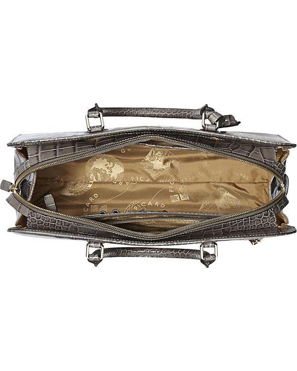 PICARD PICARD Weimar Henkeltasche Leder 39 cm grau