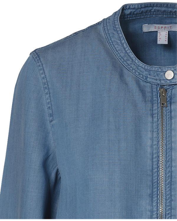 ESPRIT Jeansblouson hellblau