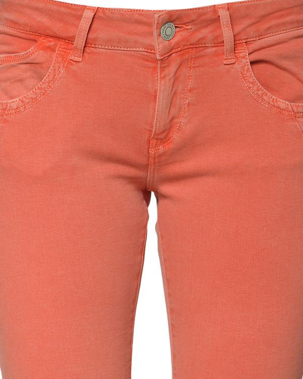 Mavi Caprijeans Alma orange