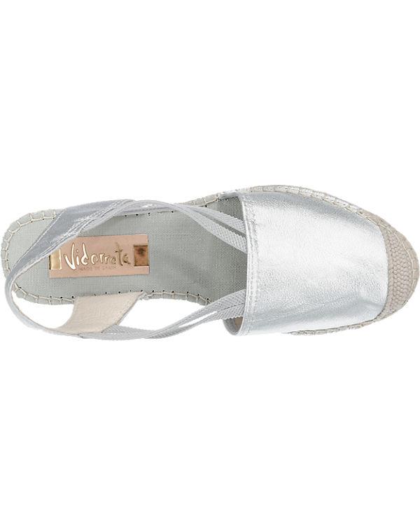Vidorreta Sandaletten silber