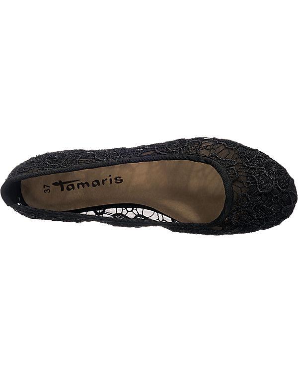 Tamaris Crenna Ballerinas schwarz