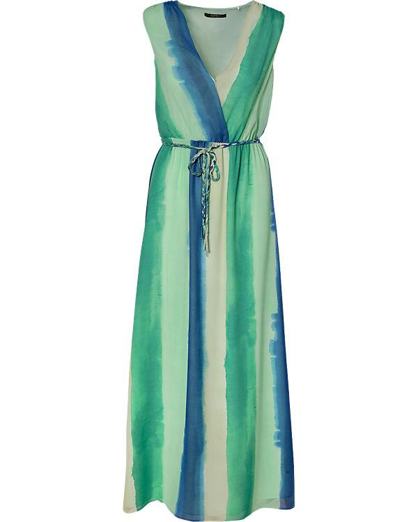 ESPRIT collection Maxikleid blau/grün