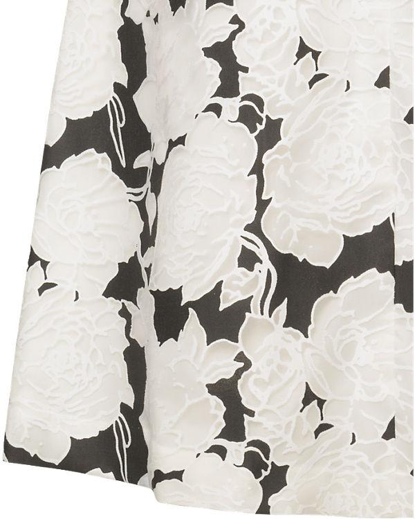 ESPRIT collection A-Linienrock schwarz/weiß