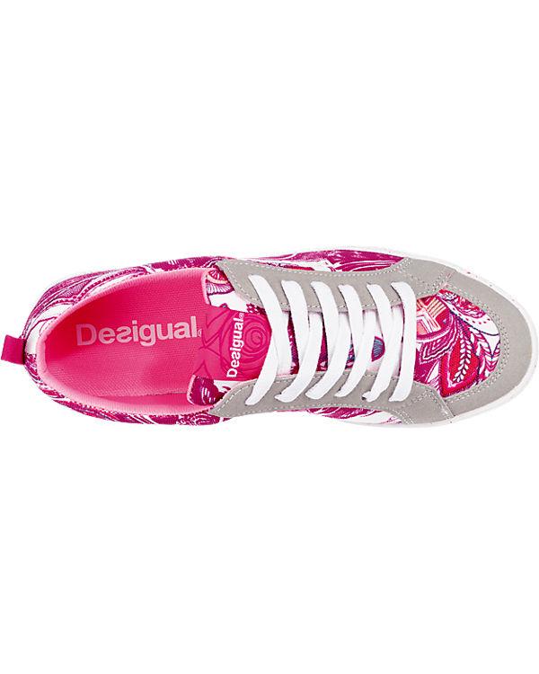 Desigual Classic Sneakers weiß