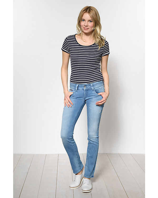 HILFIGER DENIM Jeans Viola Straight light blue denim