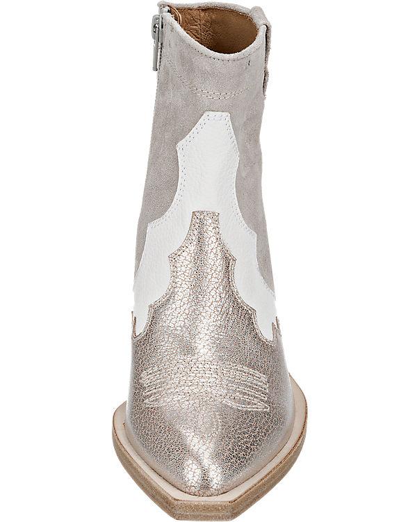 Zinda Stiefeletten grau-kombi