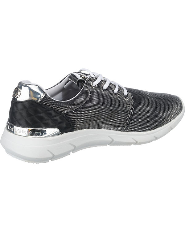 TOM TAILOR Sneakers schwarz