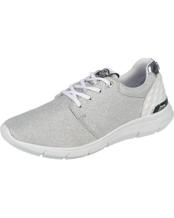TOM TAILOR Sneakers silber