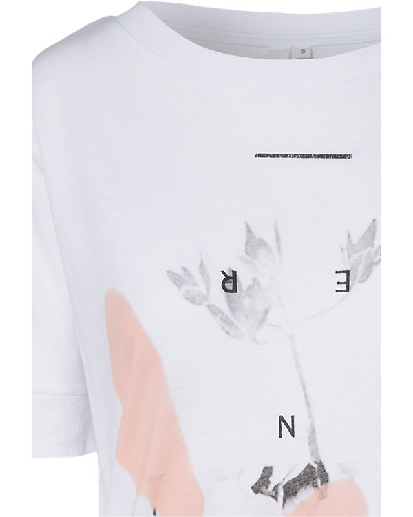 Q/S T-Shirt weiß
