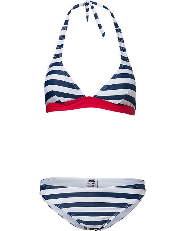 arena Bikini blau/weiß