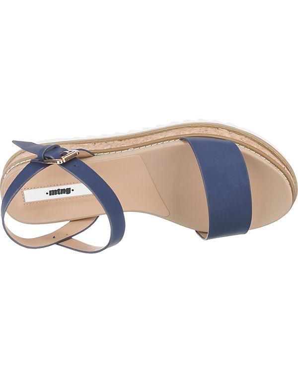 MTNG Virginia Sandaletten dunkelblau