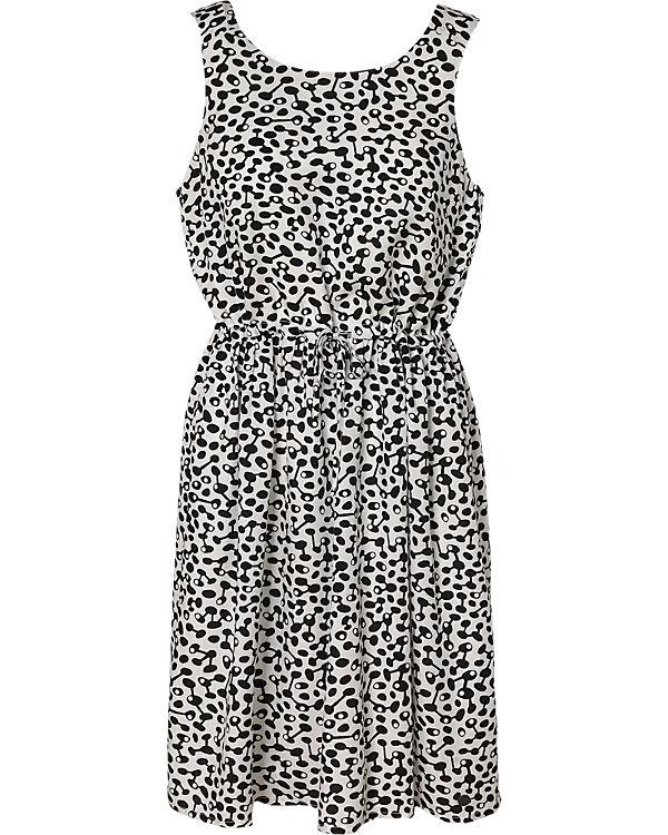 nümph Kleid schwarz/weiß